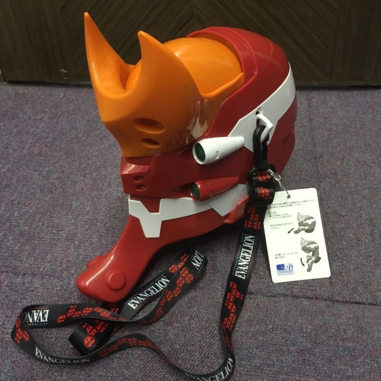Evangelion (EVA-02)Popcorn bucket USJ limited edition