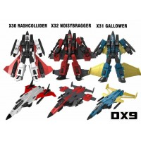 DX9 War in Pocket - X30 X31 X32 - Conehead Set of 3