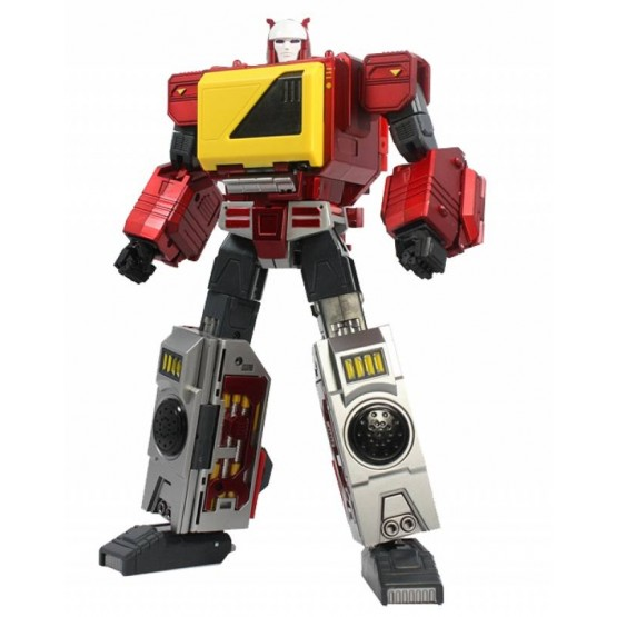 KFCTOYS Transistor (Metallica Red 2021 Rerun)