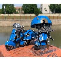 WEI JIANG Blue Iron for Small Steel Cap