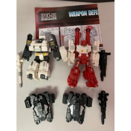 IronFactory IF-EX02 Slammer and Scamp (USED)