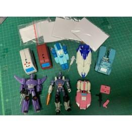 DX9  mini figure  8 pcs  (USED)