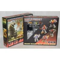 DX9  War in Pocket  Dino Set of 5 Figures - Giftset