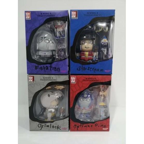 Transformers X B.wing Set of 4