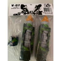 Visual V-02 Missle for TFC Supreme Techtial Commander (Green)