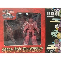 Iron Factory - IF-EX05 The Hunter - Miko for Irontitan (Clear Ver)