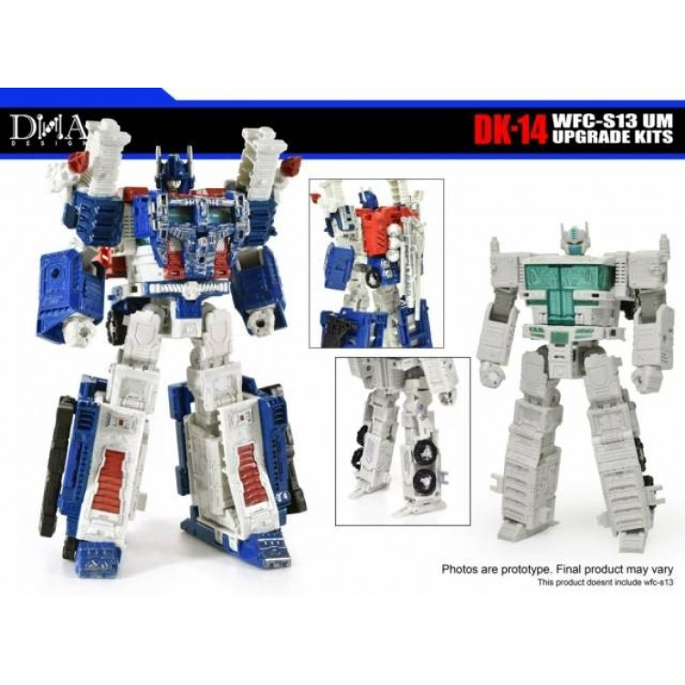 IN STOCK Transformers toy DNA DK-14N WFC UM-N Upgrade Kits