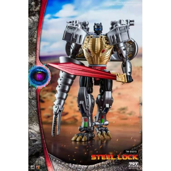 ToyWorld  TW-BS01G Steel Lock Metallic Ver
