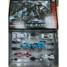 TarakaTomy Transformers Unite Warriors Uw-03 Guardia (used)