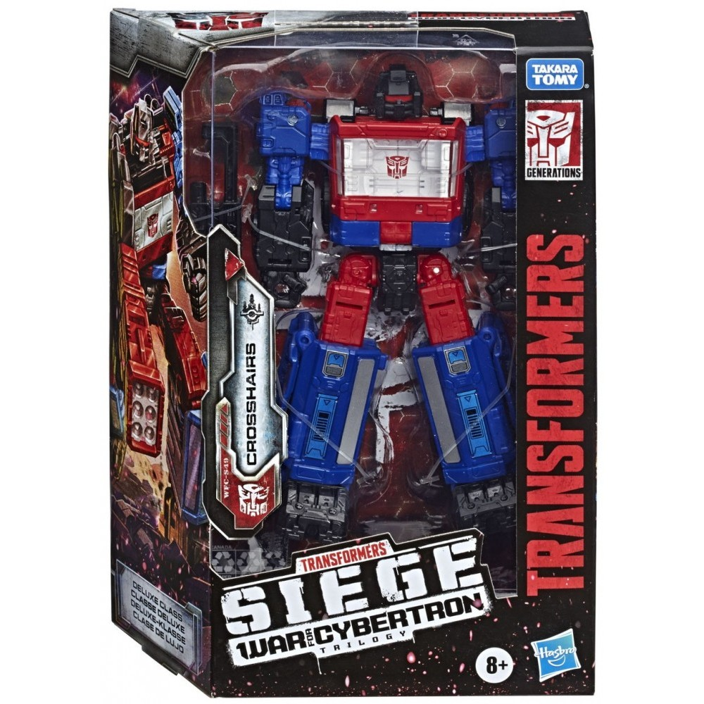 Transformers War for Cybertron Siege: Deluxe Crosshairs
