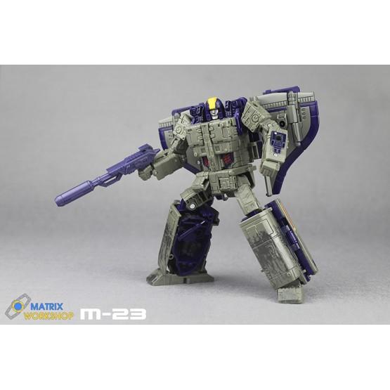 Martix Workshop M-23 (Purple) for Siege Leader Astrotrain