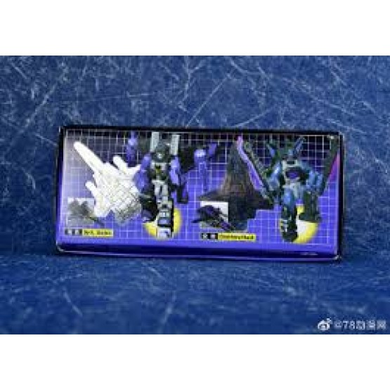 X2Toys - XT014 - Dark Shadow & Counterattack  Set Of 2