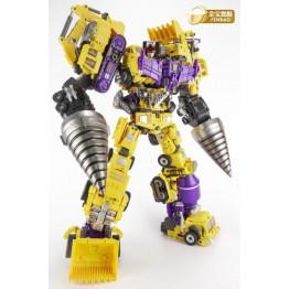 JINBAO Builder.D-03 Full Set Gift box (Yellow Ver)