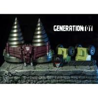 Generation Toy GT-99 Gravity Builder Metallic Limited Ver  Free Upgrade Kit