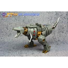 FansToys FT-08 - Iron Dibots No.5 - Grinder - Dinohead (Rerun)