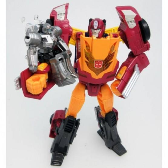 TakaTomy Transformers Legends - LG45 Targetmaster Hot Rod / Hot Rodimus