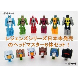 TakaTomy Transformers Legends  LG-EX HEADMASTER SET