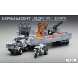 MFT Mech Mechanic Studio VP-01 VP01 Mammoth Truck