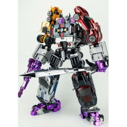 TransFormMission TFM - Havoc - Car Combiner Set of 5 (Chrome Ver)