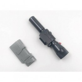 MODFANS Black mamba P36-2 Cannon (Voice w/ LED) - Upgrade Kit for MP36 Megatron (no box)