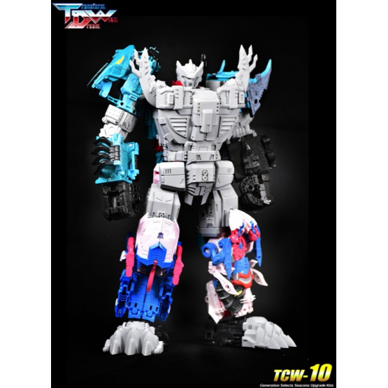 Transform Dream Wave TCW-10 King Poseidon Upgrade Kit