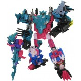 TakaraTomy Transformers GenerationsTentakil Exclusive Seacons and King Poseidon