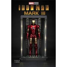 Zd toys Marvel Iron man MK3 with LED Base 19cm height (Licensed)