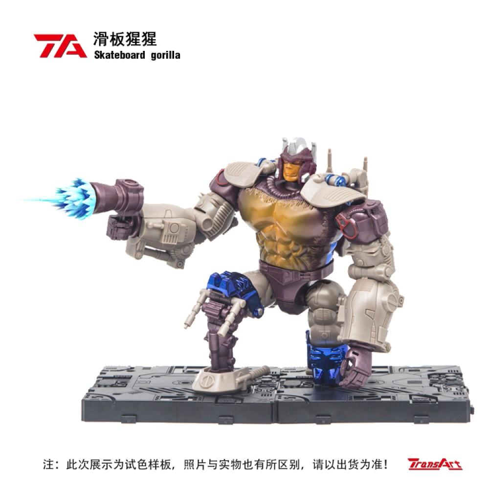 TransArt TA BWM-02  Skateboard Gorilla (2021 Rerun)