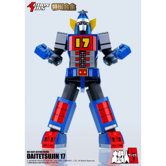 Action toys Daitetsujin 17 Die-Cast (Stage ver)