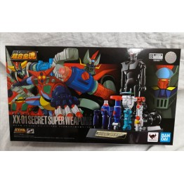 Bandai Mazinger Soul of Chogokin GX-XX01 Secret Super Weapons Set 01 for Dynamic Classics