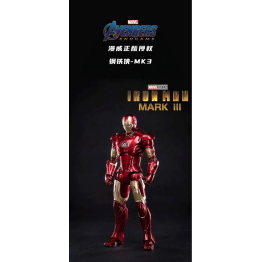 Zd toys Marvel Iron man MK3 (Licensed)