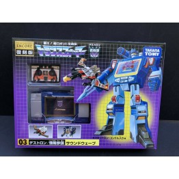 TakaraTomy Transformers G1 Encore 03 Soundwave & Laserbeak