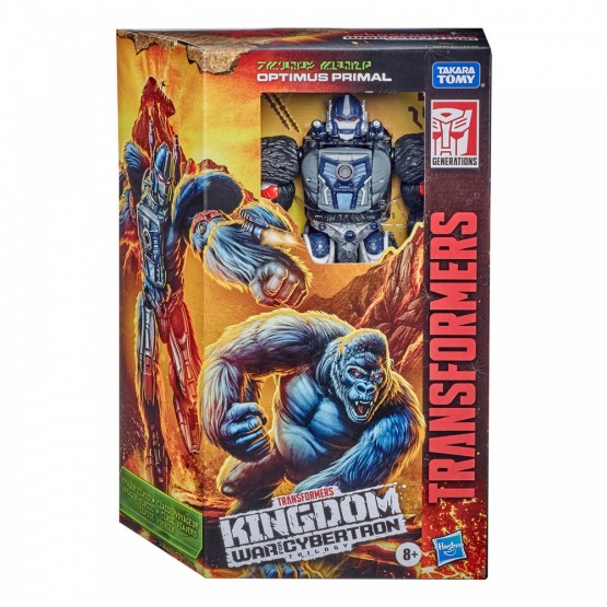 Hasbro Transformers Kindgom WFC-K8 Optimus Primal