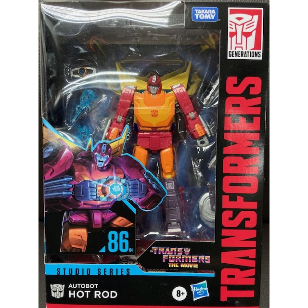 Hasbro Transformer Studio Series The Movie 86 Hot Rod