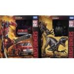Hasbro Transformers Kindgom WFC-K18 Dinobot + WFC-K19 Inferno