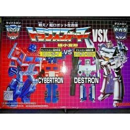 Takara WST Transformers VSX Cybertron vs Destron - Optimus and Megatron