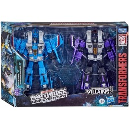 Transformers Earthrise WFC-E29  SEEKER ELITE SKYWARP AND THUNDERCRACKER