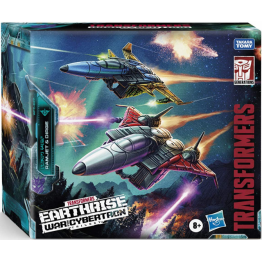 Transformers Earthrise WFC-E27 SEEKER ELITE RAMJET AND DIRGE