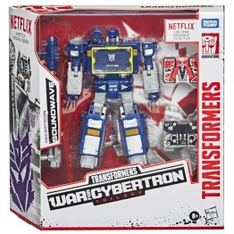 Transformers Netflix X Transformers: Siege Voyager Class Soundwave
