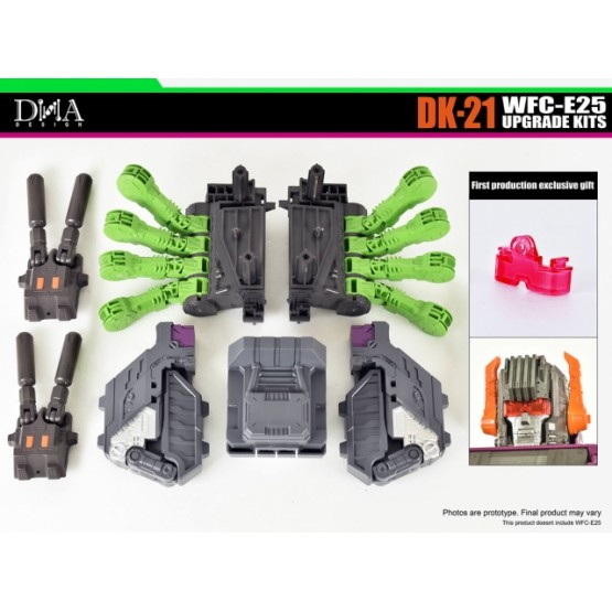 DNA Design DK-21 UPGRADE KIT FOR EARTHRISE WFC-E25 TITAN SCORPONOK
