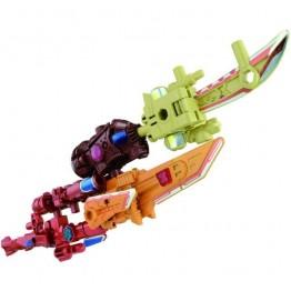 TakaraTomy Transformers Prime  AMW-13 ARMS MICRON ULTIMATE 5 PIECE