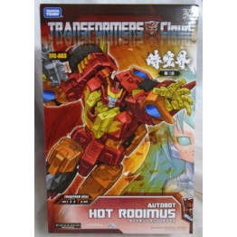 Takara Tomy Transformers Cloud TFC-A03 Hot Rodimus (with comic book)