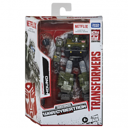 Transformers  NETFLIX  WAR FOR CYBERTRON TRILOGY HOUND