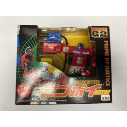 Takara Transformers g2 Prime Of  Justice TRF-1