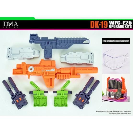 DNA Design DK-19 UPGRADE KIT FOR EARTHRISE WFC-E25 TITAN SCORPONOK