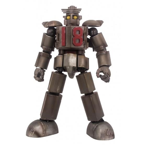 World Scope Daitetsujin 17 ONE EIGHT 18 Action Figure (Battle Damage Ver)