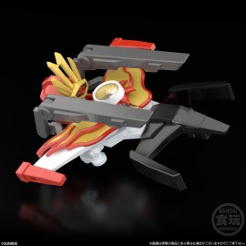 Bandai SHOKUGAN MODELING PROJECT THE BRAVE FIGHTER OF SUN FIGHBIRD SET