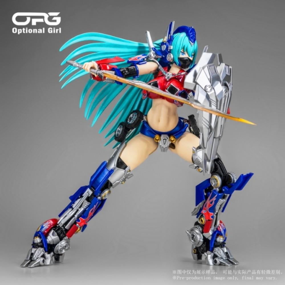 Alien Attac OPG-01 OPTIONAL GIRL M3 VERSION