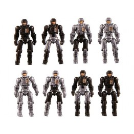TakaraTomy Diaclone DA-04-2 Dia-Naughts Set of 8 (Ver.2)
