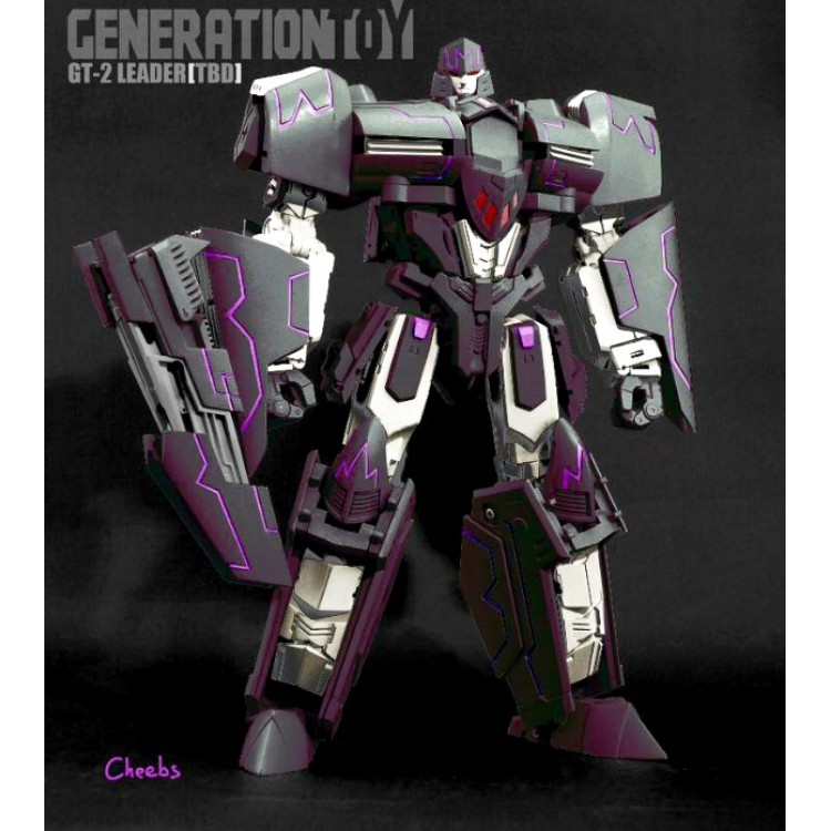 Generation Toy GT-02 IDW Megatron Transformers Action Figure Toy Robot